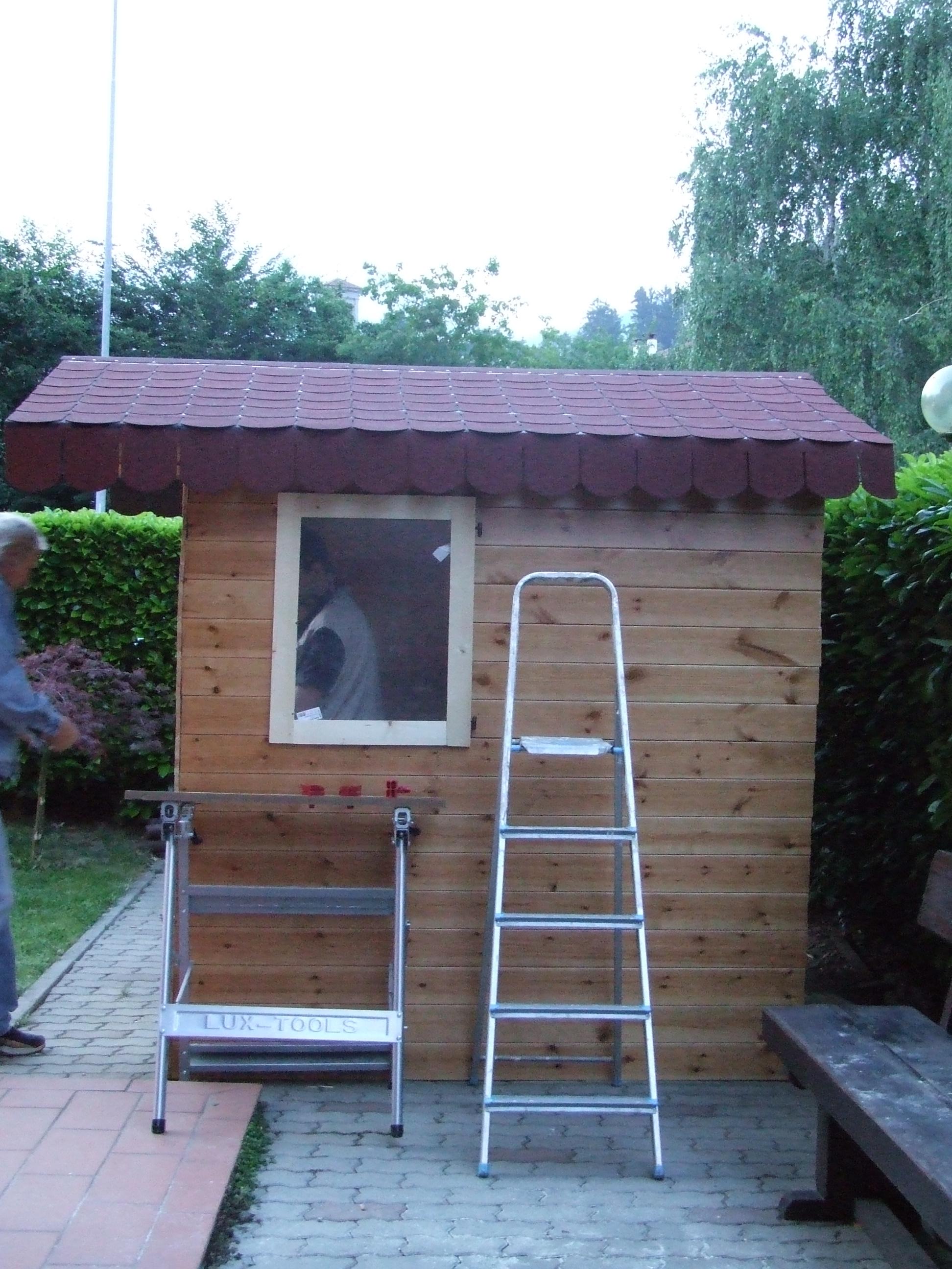 Tegole canadesi per casetta in legno