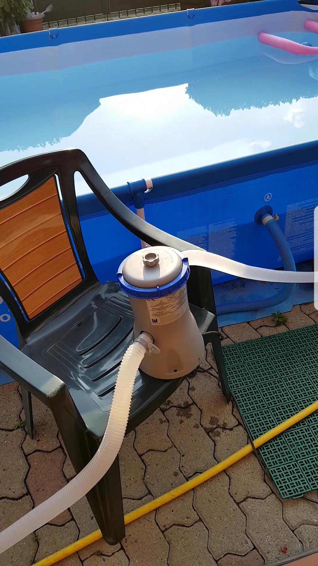 Pulizia del filtro della piscina fuori terra fardasefapertre for Piani del padiglione della piscina